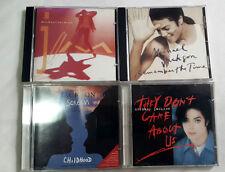 MICHAEL JACKSON KOREAN CD LOT + FREE GIFT