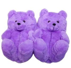 teddy bear house slippers