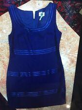Women's Electric Blue RIMINI COCKTAIL/EVENING DRESS SIZE 12