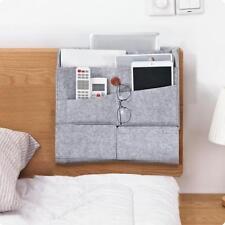 Felt Bedside Caddy Pocket Bed Organizer Hanging Storage Bag Phone Book Holder