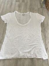 Stylemint Abbot Kinney Tee T-Shirt en Blanc Taille 1 Jumelles Olsen