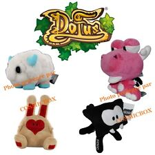 DOFUS PETS lot 4 peluches animaux pets Wakfu chacha tofu boufballe dragon monton