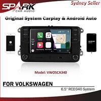 Original Radio System CarPlay Android Auto RCD340 For VW Multivan Passat SP