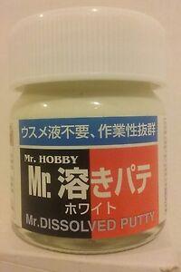 Gunze Sangyo Mr Hobby P-119, Dissolved Putty.