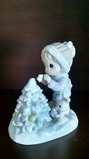 Precious Moments - The Fruit Of The Spirit Is Love, Joy And Peace Figurine -