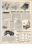 "1959 PAPER AD Trams Direct Drive Gas Gasoline Chain Saw 5.5 HP 30"" 3.5 HP"