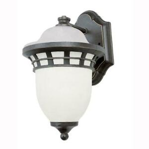 Bel Air Lighting Imperial 1-Light Bronze Outdoor Coach Lantern Sconce