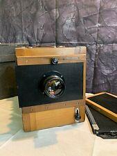 Soviet camera FKD 13 x 18 + lens Industar 51 (4,5/210)