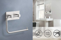SUS304 3M Paper Towel Holders Toilet Tissue Hanger Rack Bathroom Accessories NEW