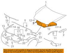 MITSUBISHI OEM 06-12 Eclipse Hood-Insulation Pad Liner Heat Shield MR987595