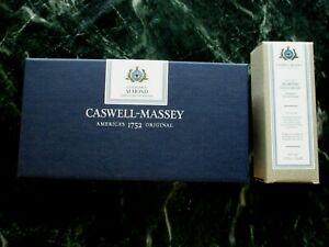 Caswell-Massey Triple Milled Centuries Almond Bar Soap White + Hand Cream NEW!