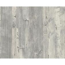 Nuevo como creación envejecido Driftwood panel de madera sintética efecto en relieve en papel pintado