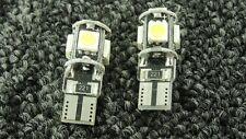 SKODA CAR LIGHT BULBS LED ERROR FREE CANBUS 5 SMD XENON