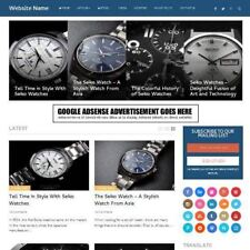 WATCHES WEBSITE  - Professionally Designed Affiliate Website Business For Sale