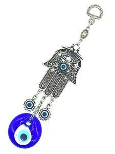 Hamsa Hand of Fatima Decoration Evil Eye Home Accessory Turkish Blue Eye #5031