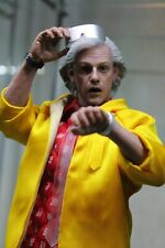 Hot Toys Masterpiece Series Back to the Figure Part 2 Dr. Emmett Brown 1/6...