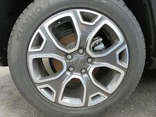 "15-16 Jeep Renegade New 18"" x 7"" Gray & Silver Aluminum Wheel Mopar Factory Oem"