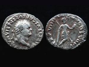 Denier TITUS (79-81) Venus (argent / silver) Denarius Titus - fourré - romaine