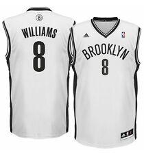 Deron Williams Brooklyn Nets Replica Jersey ADIDAS 2XL- Bianco 100% AUTENTICO