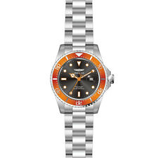 Invicta 22022 Gent's Orange Accented Bezel Black Dial Dive Watch