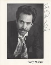 Larry Thomas autographed 8x10 photo No Soup For You Seinfeld Soup Nazi