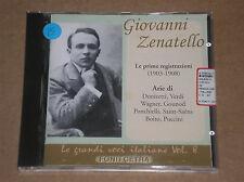 GIOVANNI ZENATELLO - LE GRANDI VOCI ITALIANE VOL. 8 - CD COME NUOVO (MINT)