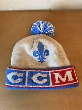 New ListingQuebec Nordiques Ccm Nhl Hockey Beanie Winter Hat