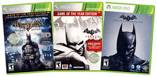 BATMAN VALUE PACK: (ARKHAM ASYLUM / ARKHAM CITY / ARKHAM ORIGINS) (3-P (XBOX360)