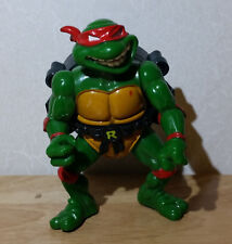 VINTAGE 1991 CITY SEWER SHELL RAPHAEL 4in. ACTION FIGURE TMNT BY PLAYMATES