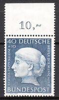 BRD 1954 Mi. Nr. 203 Oberrand Postfrisch TOP!!! (11997)