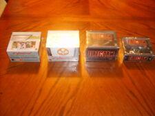 TCG CCG Cyberpunk Firestorm Starter Booster Display Box Sealed Lot *New* 4 Boxes