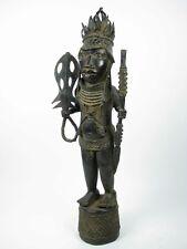 GothamGallery Fine African Art - Nigeria Court of Benin Bronze Figure V
