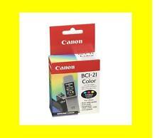 2 orig. Patrone CANON BCI-21 color BJC-2000 4000 5000 MultiPASS C20 C30 C50 C70