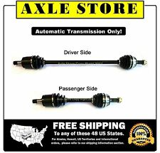 2 New Front CV Axles Fits Honda Accord With Automatic Transmission Only