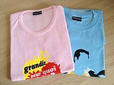 RENAULT MODUS - LOT 2 T-SHIRTS PUBLICITAIRES - Homme et Femme Promo Voiture