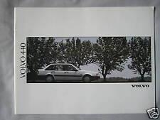 1991 Volvo 440 Brochure Pub.No. MC/CAR BV 6577-91