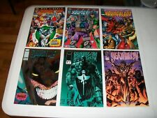 1993 TEAM YOUNGBLOOD #2, #3 & #4 & 1993 BRIGADE #2 & 1994 DEATHBLOW #9 & #10