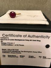RUBY RING 5.33crt