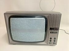 "Rare Vintage Fidelity 14"" CRT TV - Prop TV- Working 1980s"