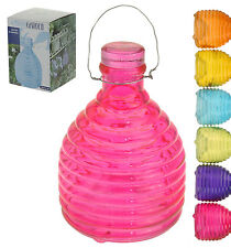 Glass Wasp Trap Fly Flies Insect Bug Hanging Honey Pot Trap Catcher Outdoor