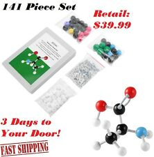 141Pcs Atom Molecular Model Kit Set General & Organic Chemistry Scientific Teach