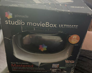 NEW Pinnacle Studio MovieBox Ultimate 710 USB Fire Wire Capture Video Editing