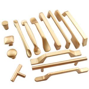 Möbelgriffe Schubladengriff Stangengriffe Möbelknopf Bogengriffe Gold
