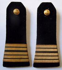 Epaulettes Pattes d'épaule Officier MARINE GENIE MARITIME ancien ORIGINAL