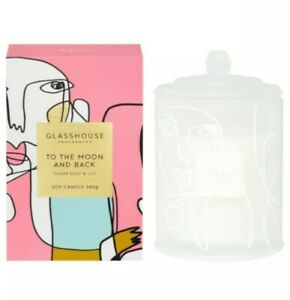 Glasshouse Soy Candle To The Moon And Back 380g- Limited Edition