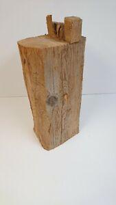 Deko Altholzbalken Holzbalken Altholz Säule Skulptur rustikal Balken Holz Stele
