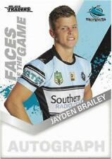 2018 NRL Traders Faces of the Game (FG 13 / 64) Jayden BRAILEY Sharks