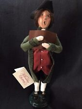 "Byers Collection Caroler  - ""Williamsburg Male"" -  Created for Williamsburg 1998"