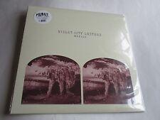 Violeta City Farol por Murales Vinilo, Feb-2016, Fire Talk LP Nuevo