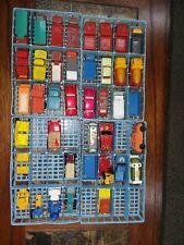 Vintage MATCHBOX LESNEY Lot of 24+ Cars in CASE